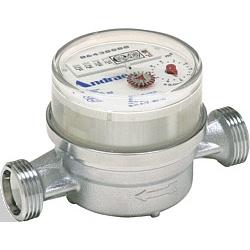 Wohungswasserzähler Warmwasser DN 15  BL:110 mm