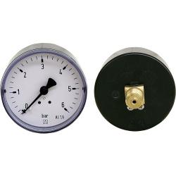 "Rohrfeder-Manometer ø 63 mm, DN 8 (1/4"") axial"