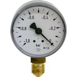 "Rohrfeder-Manometer ø 50 mm, DN 8 (1/4"") radial"