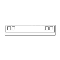 Vaillant Montagekasten Unterputz