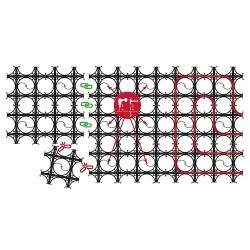 Dünnbett-Systemelement Slim 2,4m² VPE 5Stk
