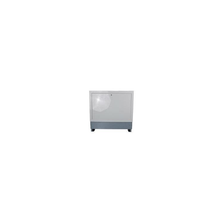 Verteiler Einbauschrank 2-4 Heizkreise weiß lackiert