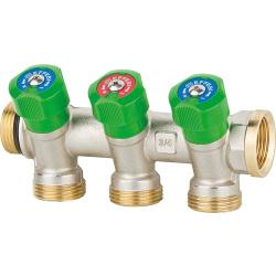 Trinkwasserverteiler 3fach