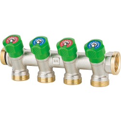 Trinkwasserverteiler 4fach