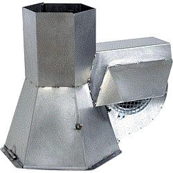 KW Rauchabsauger Typ RS-180 Edelstahl