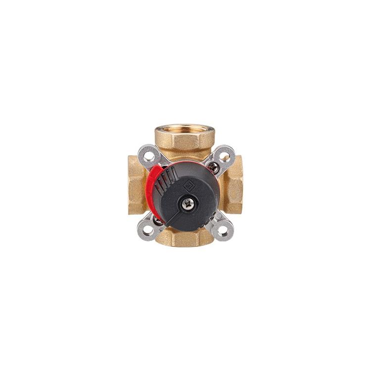 """4-Wege-Mischer Termomix C 15 S Kvs 2,5 Rp 1/2"""" Messing"""
