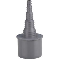 Schlauchnippel DN50 auf ø: 8, 10, 13, 19 und 25 mm