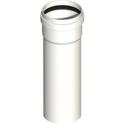 Kunststoff Abgasrohr kürzbar DN60