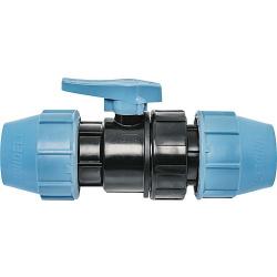 PLT Kugelventil mit Schnellverschluss 32mm