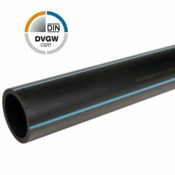 PE Druckrohr Stange 6lfm 32x3,0 mm