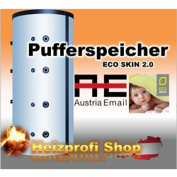 Austria Email Trinny Pufferspeicher PSR 1000 L EcoSkin 1 Register