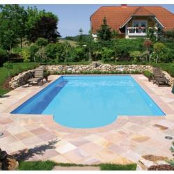 Öko Pool Komplettset Classic de Luxe 800 x 400 x 145 cm