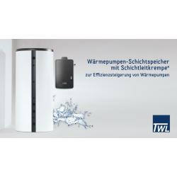 Wärmepumpen Schichtspeicher WP400L mit...