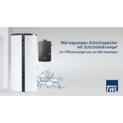 Wärmepumpen Schichtspeicher WP1000L mit...