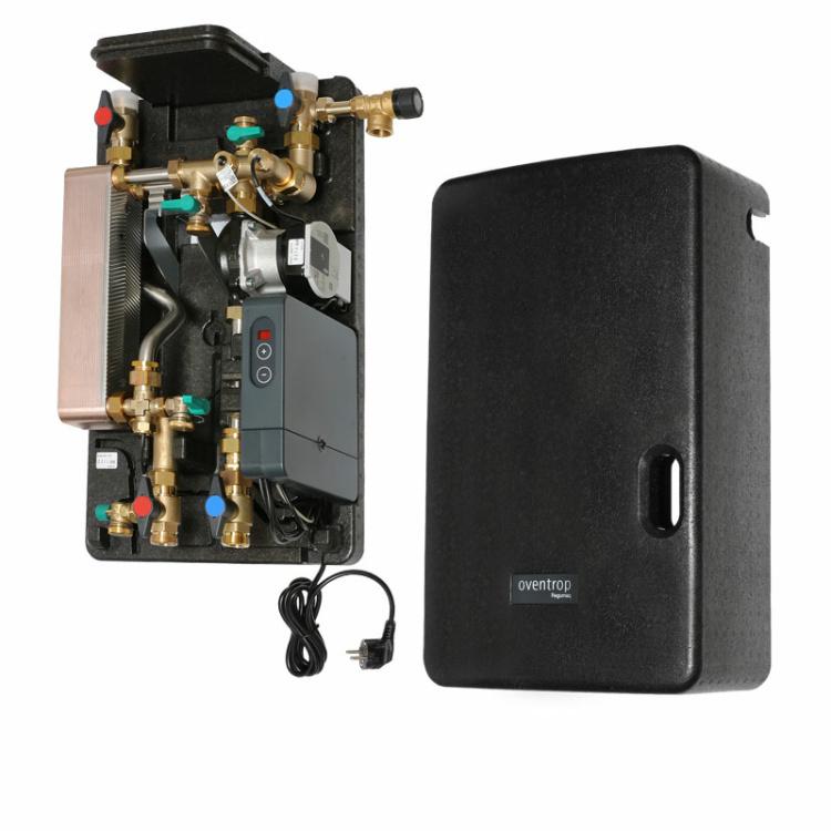 Oventrop Frischwasserstation Warmwasserstation Regumaq X-45 mit Sealix® WP