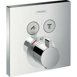HG Unterputz-Thermostat ShowerSelect, für 2 Verbraucher