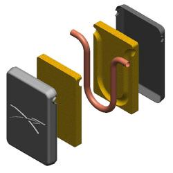 Sunex Thermosiphon mit Isolierung