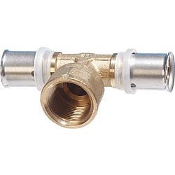 T-Stück mit IG 20x2mm-3/4-20x2mm