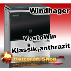 Vesto Win Klassik 220 grau 21,5 KW mit Stahlherdplatte
