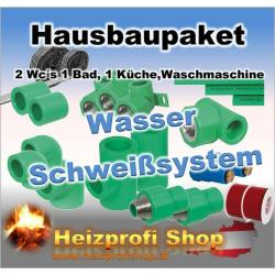 PP-Schweißsystem Paket Wasser Aquatec/ Einfamilienhaus
