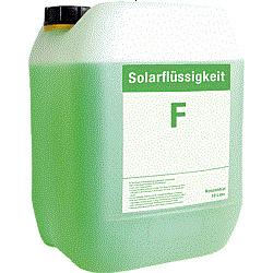 Solarfrostschutz Wärmeträgerflüssigkeit 10...
