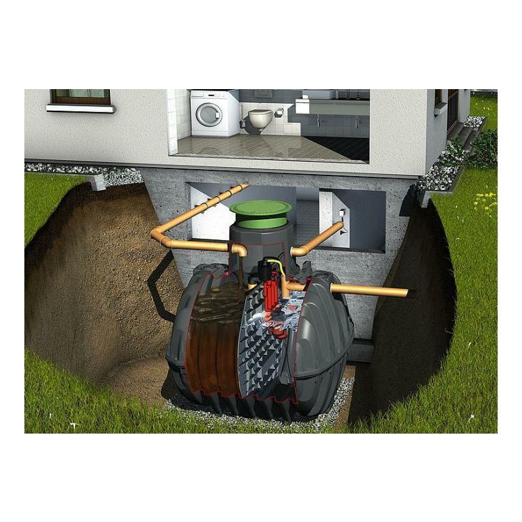 SBR Kläranlage 8-10 EW Graf Klaro Easy Behälter 2 mal 3750 lt