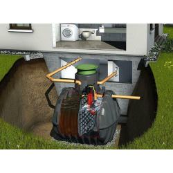 SBR Kläranlage 10-12 EW Graf Klaro Easy Behälter 2 mal 4800lt