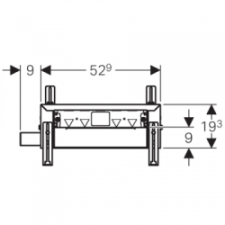 Geberit Kombifix Duschelement für Massivbau, H34