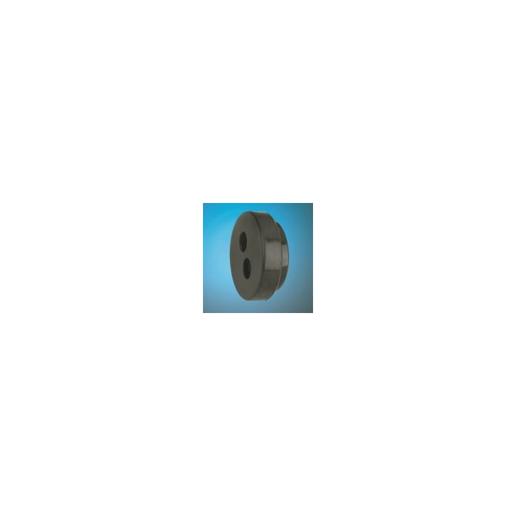Gummi-Endkappe Austroflex 125- 2x25