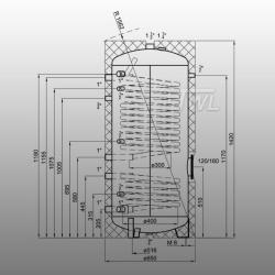 TWL Wärmepumpen-Solarspeicher 300 L