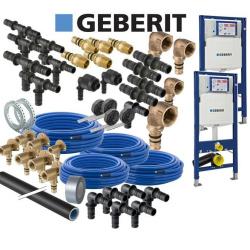 Geberit Mepla Sanitär Hausbaupaket inkl 2 WC UP320...