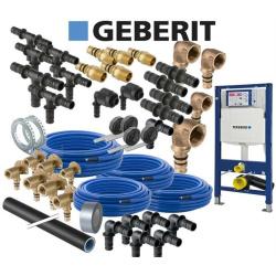 Geberit Mepla Sanitär Hausbaupaket inkl 1 WC UP320...