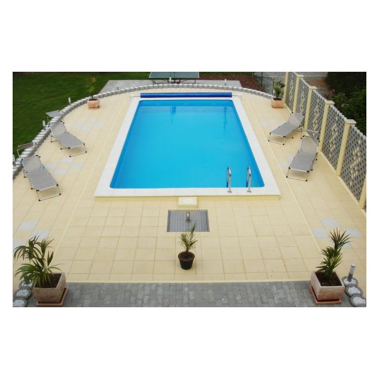 Pool komplettset eco 700 x 350 x 150 cm heizprofishop for Pool komplettset