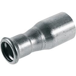 C-Stahl Reduzierstück 22x18