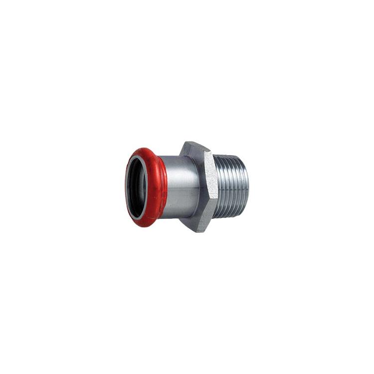 """C-Stahl Übergang AG 18mm x DN 15 (1/2"""")"""