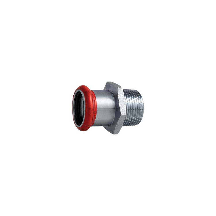 """C-Stahl Übergang AG 22mm x DN 15 (1/2"""")"""