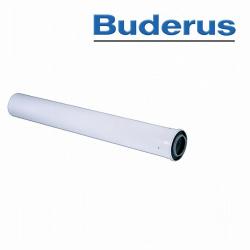 Buderus Abgasrohr Konzentrisch 80/125 1000mm