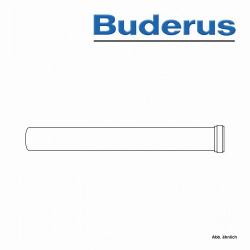Buderus Abgasrohr, Ø 80 mm, 1000 mm