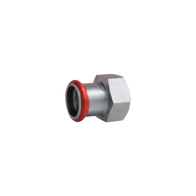 "C-Stahl Übergang IG 28mm x DN 15 (1/2"")"